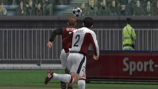 Pro Evolution Soccer 3 - 2003 - FC Bayern Munich  VS  A.C. Milan (PC)
