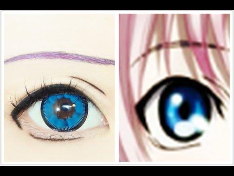 Neko Tutorial Anime Eye Makeup 159 Youtube