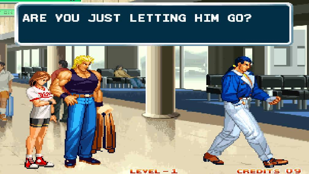 Art Of Fighting 3 1996 Ryo Ending Credits Neogeo Youtube