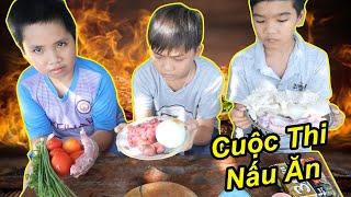 Trẻ Trâu Và Trận Chiến Thi Nấu Ăn Ai Nấu Ăn Ngon Nhất Xóm | TQ97