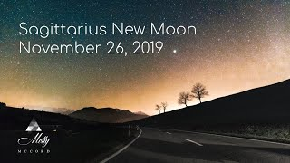 Nov 26 🌟 Sagittarius New Moon ♐ Soul Expansion Energies Igniting A New Path