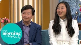 Crazy Rich Asians Star Awkwafina Calls Ken Jeong