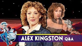 Alex Kingston Q&A