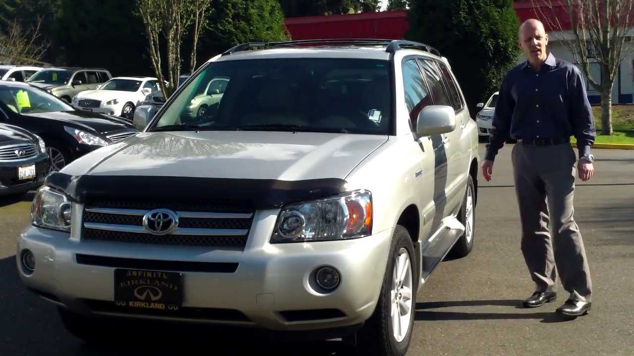 Review Why A 2006 Toyota Highlander Hybrid Limited Under 7000 Is An Amazing You