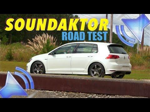 VW SOUNDAKTOR - 2016/2017 GTI & GOLF R | Review & Test - OFF & ON