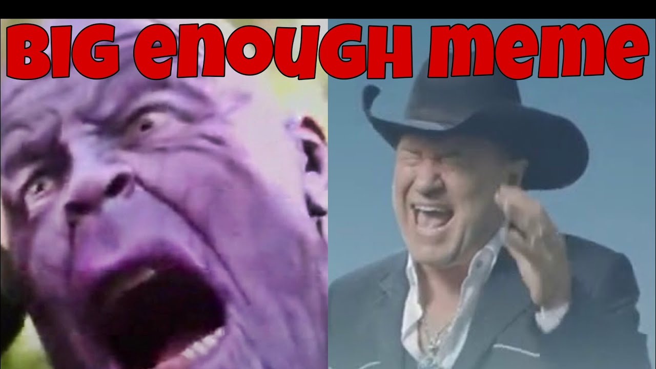 Big Enough scream meme Marvel Compilation - YouTube