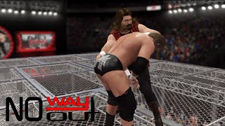 Mick Foley vs. Triple H - No Way Out 2000-WWE Championship| Hell In A Cell Match|WWE-2K16 Simulation