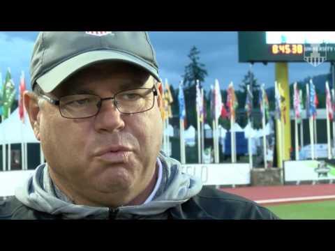 Illinois Men's Track & Field Coach Turk Talks NCAA's | 6/9/17