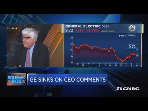 GE CEO: GE's 2019 cash flow will be negative. Here's what that means for the stock