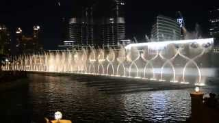 The Dubai Fountain arabic song
