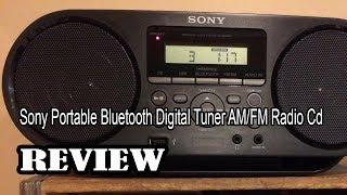 Sony Portable Bluetooth Digital Tuner AM/FM Radio Cd   Review