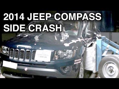 2014 jeep compass side crash test crashnet1 youtube. Black Bedroom Furniture Sets. Home Design Ideas