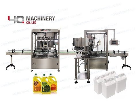5L Volumetric Filling And Capping Machine  |1 Gallon F-style Size Liquid Soap Dispenser
