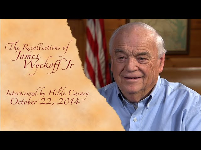 Oral History WYCKOFF YouTube sharing