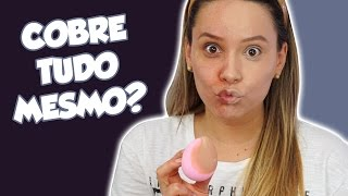 TESTANDO a base DERMACOL (a famosinha do instagram)
