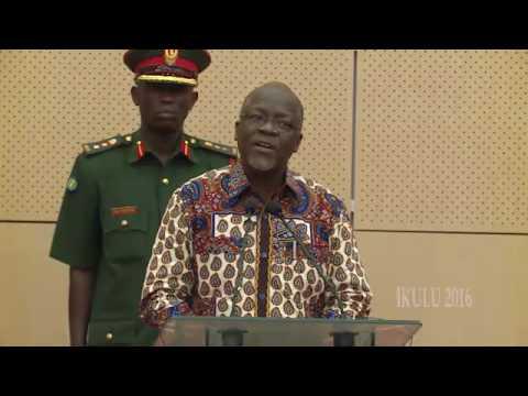 Rais Magufuli, tutaanza kuwafatilia hao wa haki za binadamu