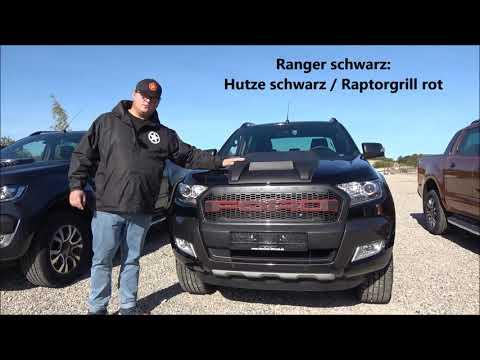 Motorhaubenhutze Ford Ranger Wildtrak Und Limited