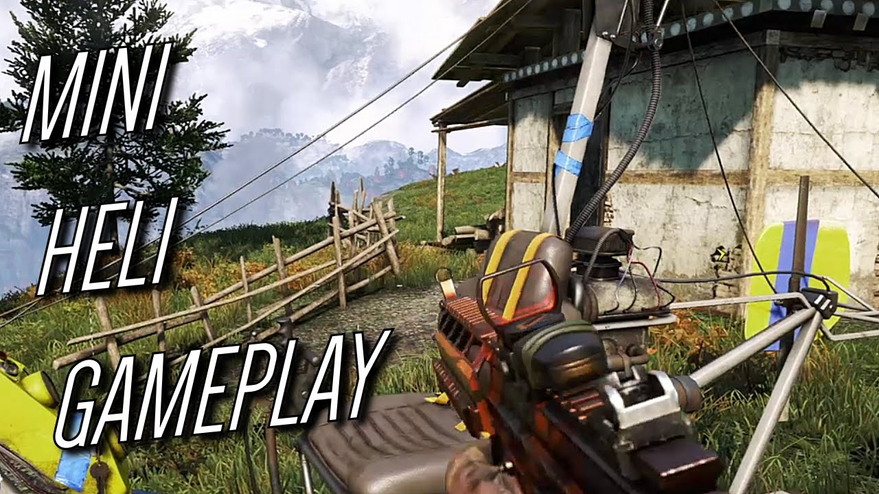 mini helikopter gameplay far cry 4 ps4 hun youtube. Black Bedroom Furniture Sets. Home Design Ideas