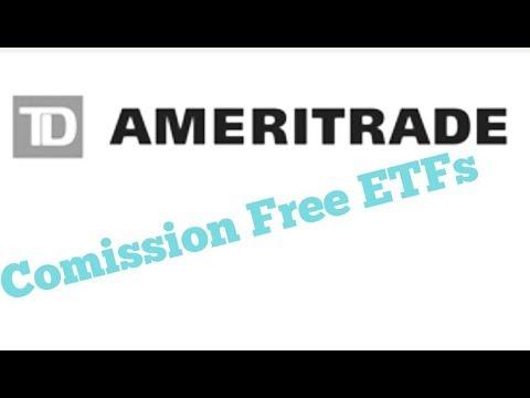 How buy Commission Free ETFs W/ Td Ameritrade (2 min)