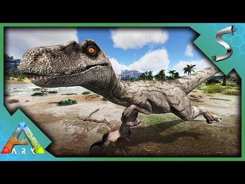 ISLA SORNA VELOCIRAPTOR TAMING! - Ark: Jurassic Park [E15]