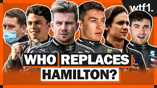 Who will Mercedes replace Hamilton with?
