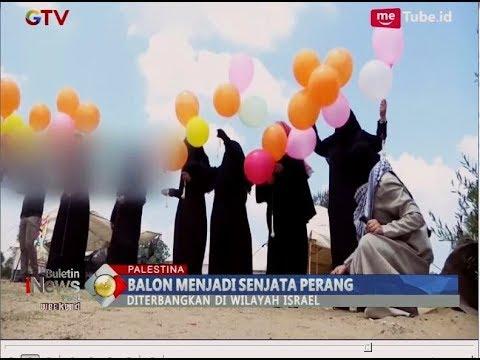 Warga Palestina Serang Dengan Balon, Israel Bingung Mengatasinya - BIP 04/08