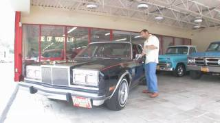 1987 Chrysler 5th Avenue for sale with test drive, driving sounds, and walk through video