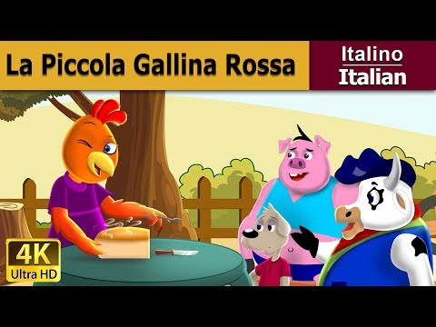 La piccola gallina rossa | Storie Per Bambini | Favole Per Bambini | Fiabe Italiane