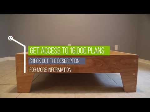 DIY Bed Frame: How To Build a Platform Bed Frame