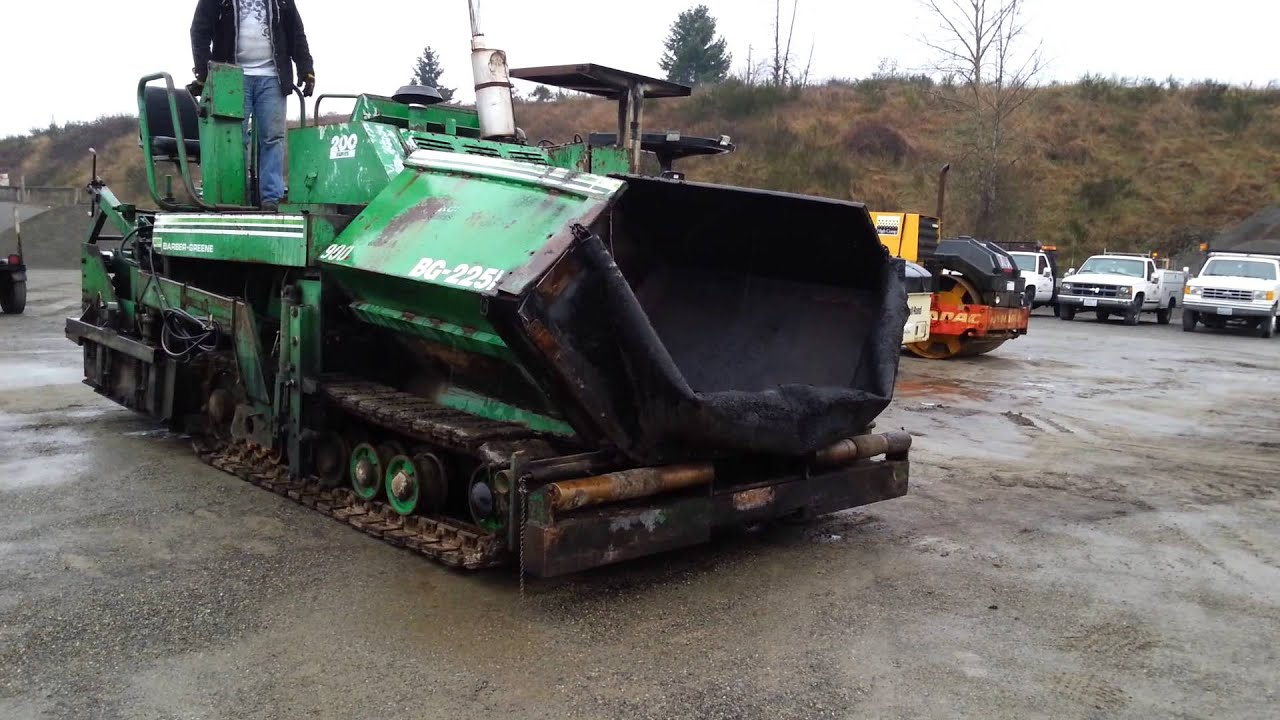 Barber Green Bg 225b Series 200 Paver Asphalt Machine