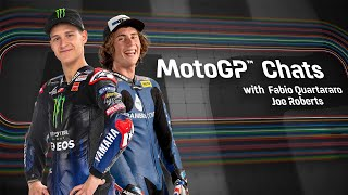 MotoGP™ Chats with Fabio Quartararo and Joe Roberts