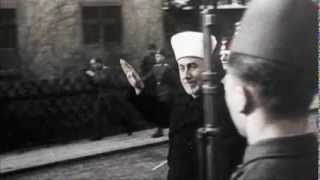 Arab leader and Nazi ally, Haj Amin Al Husseini