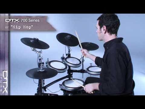 DTX700 Series Preset drum kits