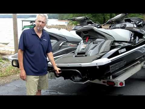 Yamaha Waverunner Fx Ladder First Look Youtube
