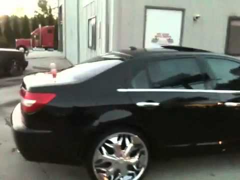 2009 Lincoln Mark Z On 22 Quot Rims Youtube