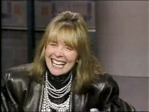 Diane Keaton on Late Night, April 15, 1987