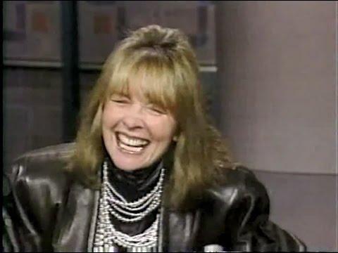 Diane Keaton on Late Night, April 15, 1987