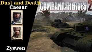 [CoH2][OKW v UKF] Propagandacast #2076 Caesar v Zyswen
