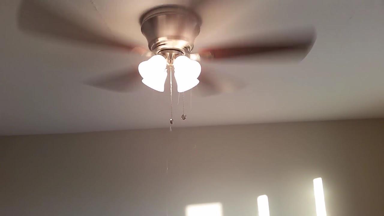 Leaking Ceiling Fan Youtube