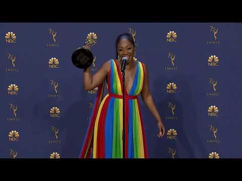 Tify Haddish  Emmys 2018 Backstage
