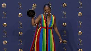Tiffany Haddish - Emmys 2018 Backstage Interview