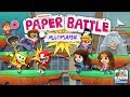 Paper Battle: Multiplayer - Crumple the Competition in All Out Paper Battle (Nickelodeon Games)