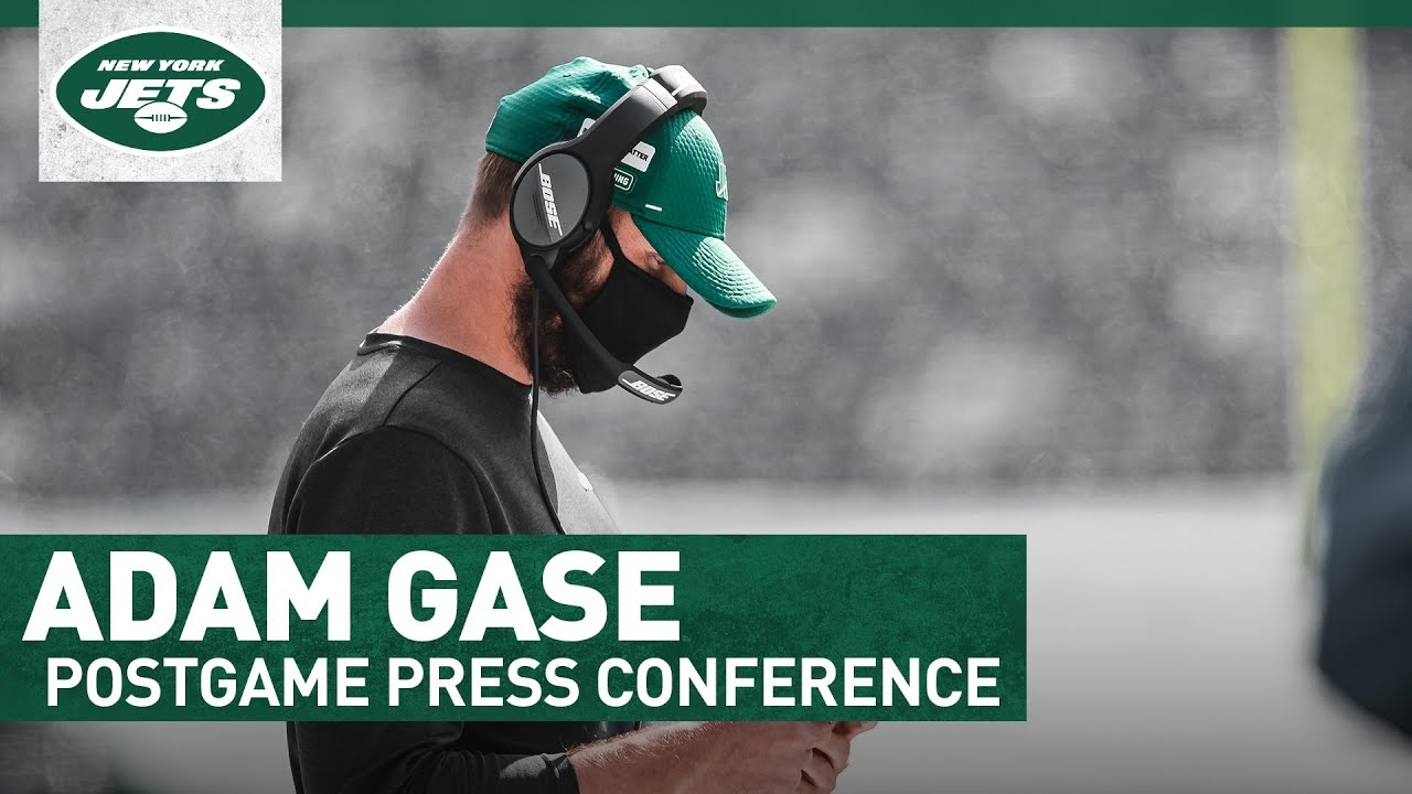 Adam Gase Postgame Press Conference (at Dolphins) | New York Jets | NFL – New York Jets
