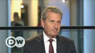 Nach Wahlempfehlung für Italien - Kritik an Günther Oettinger   DW Deutsch