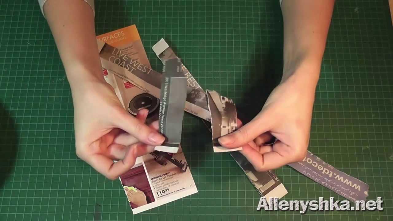 какого размера должны быть бумажки для папье маше