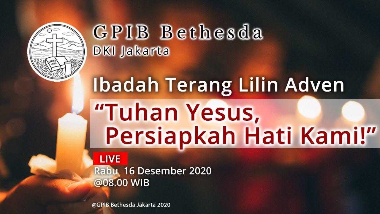Ibadah Terang Lilin Adven (16 Desember 20)