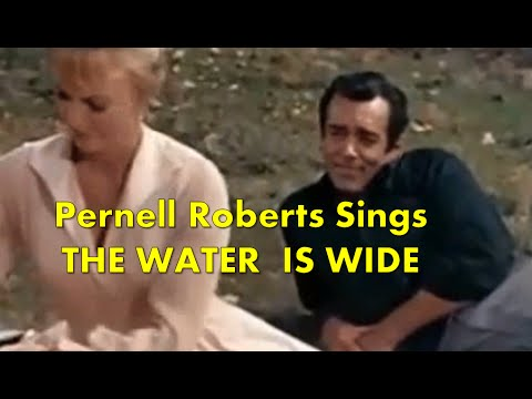 pernell roberts sings the water is wide with lyrics adam cartwright bz ep the sisters. Black Bedroom Furniture Sets. Home Design Ideas