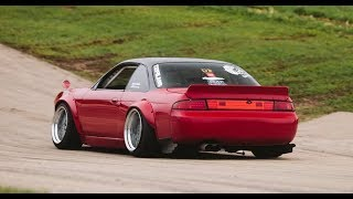 Supercharged Rocket Bunny Boss S14 240SX - Raw Drifting