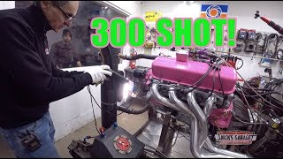 427 Big Block Chevy on NOS on DYNO - And It's PINK!