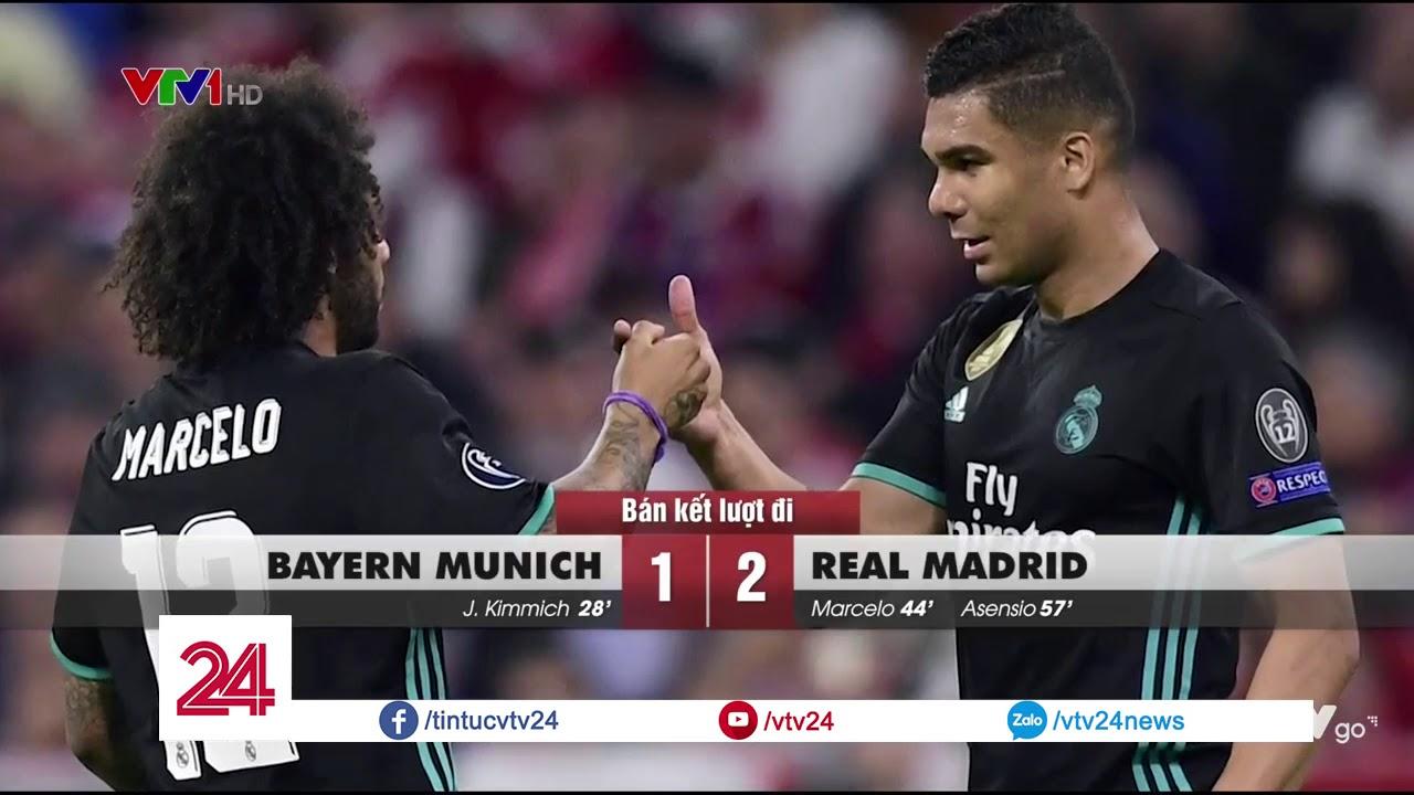 Real Madrid giành lợi thế trước trận bán kết lượt về Champions League – Tin Tức VTV24